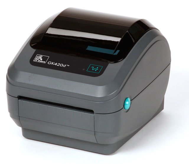Zebra GK420d Barcode Label Printer: GK42-202210-000