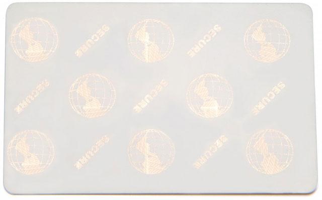 Zebra PVC Card Plastic ID Card: 104524-120
