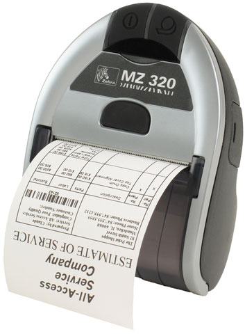 Zebra MZ 320 Printer