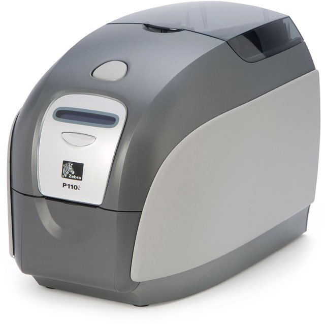 Zebra P110i Id Card Printer System Id Card Printer System