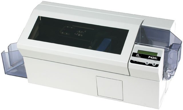 Zebra P420i Printer System ID Card Printer System
