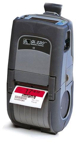 Zebra QL220 Portable Printer