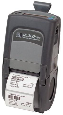 Zebra QL220 Plus Portable Printer
