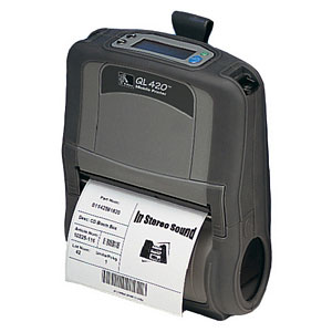 Zebra QL420 Plus Portable Barcode Printer