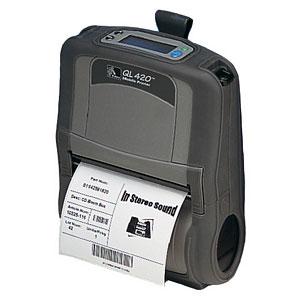 Zebra QL420 Plus Portable Barcode Printer