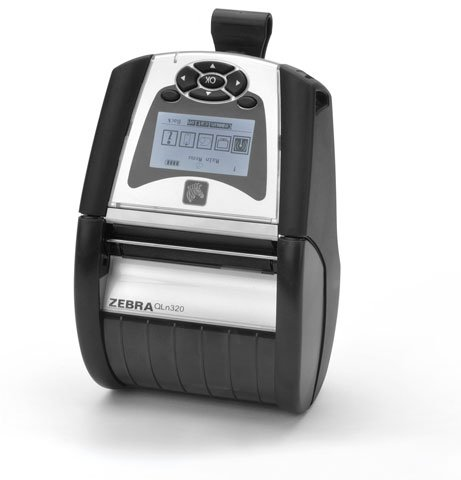 Zebra QLn320 Barcode Label Printer: QN3-AUNA0M00-00