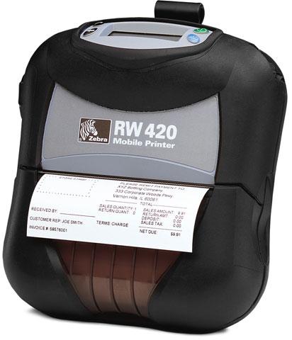 Zebra RW 420 Portable Printer