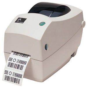 Zebra TLP 2824 Plus Barcode Label Printer: 282P-101110-000