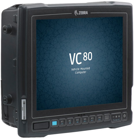 Zebra VC80 Vehicle Mount Mobile Computer