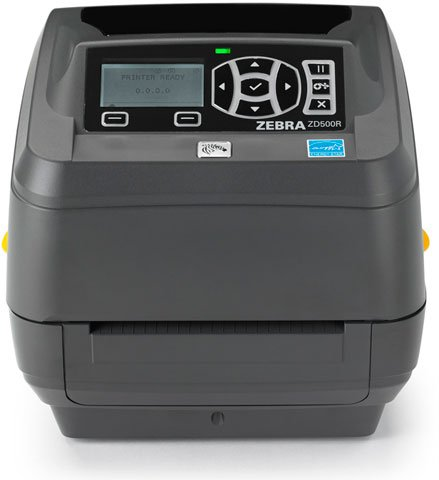 Zebra ZD500R RFID Label Printer: ZD50043-T213R1FZ