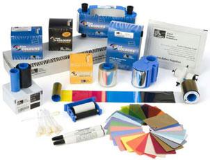 Zebra PVC Card Plastic ID Card: 104524-104
