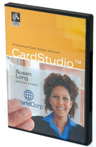 Zebra ZMotif CardStudio ID Card Software: P1031774-001