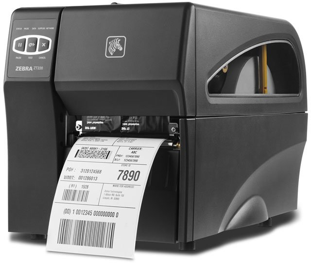 Zebra ZT220 Printer - Research, Buy, Call for Advice.