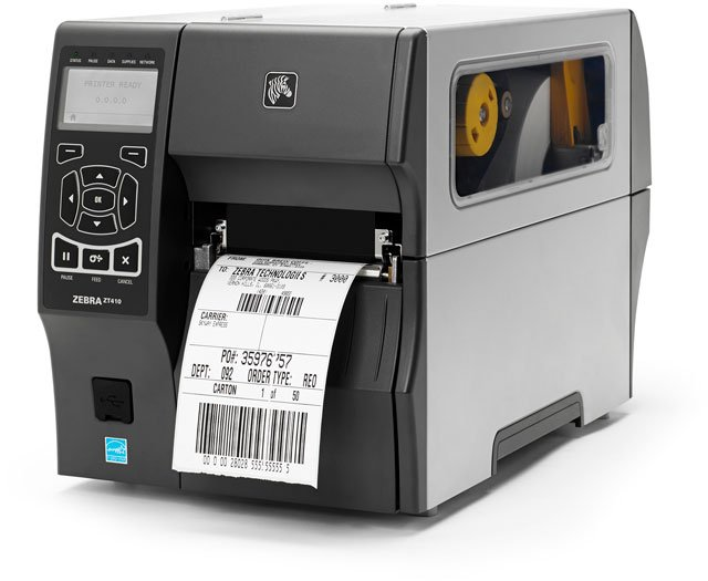 Zebra ZT410 Barcode Label Printer