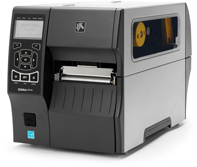 Zebra ZT400: ZT410 Barcode Label Printer: ZT41042-T01A000Z