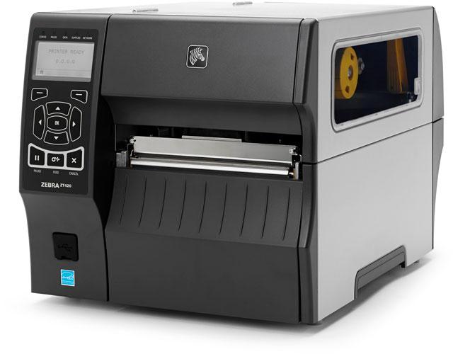 Zebra ZT400: ZT420 Barcode Label Printer: ZT42063-T010000Z