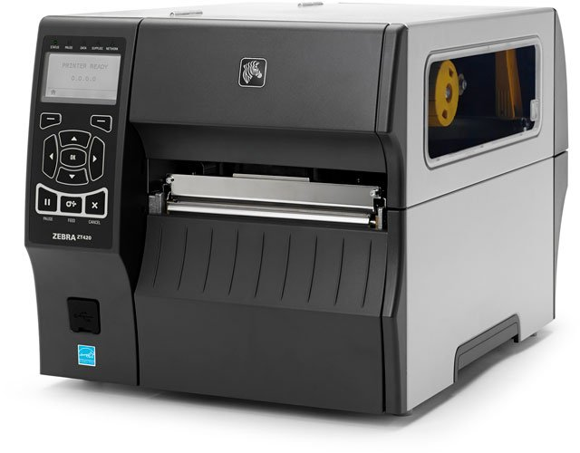 zebra zt420 printer best price available online save now rh barcodesinc com Zebra Barcode Printer Zebra Label Printer