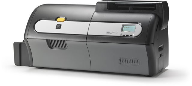 Zebra ZXP 7 ID Card Printer System: ZEB07-B0021US1