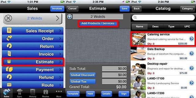 eMobilePOS MobilePOS POS Software