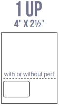 AirTrack IL1-P Barcode Label