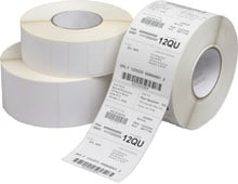 AirTrack BCI300200BIPL-PURPLE-2D-1 Barcode Label
