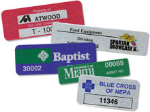 AirTrack PFL033-Ser1color Barcode Label