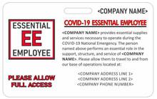 AlphaCard Essential-ID-Backer-CRV