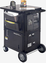 Avery-Dennison 9876 Mobile Workstation Mobile Cart
