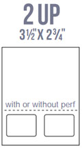 BCI Multi-Part and Form Label