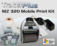 BCI ZEB-MZ320-TP-WM Receipt Printer Kit