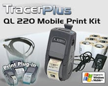Photo of BCI ZEB-QL220-PPC-KT Mobile Label/Receipt Printing Kit