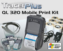 Photo of BCI ZEB-QL320-PPC-KT Mobile Label/Receipt Printing Kit