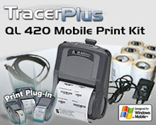 Photo of BCI ZEB-QL420-PPC-KT Mobile Label/Receipt Printing Kit
