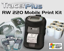 Photo of BCI ZEB-RW220-TP-WM Mobile Label/Receipt Printing Kit
