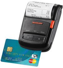 Bixolon SPP-R210BKM Portable Barcode Printer