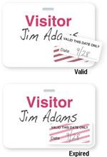 Brady 05595 Access Control Card