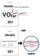 Brady 06559 Access Control Card