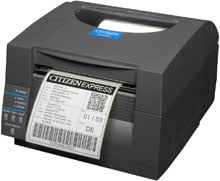 Citizen CL-S521-W-GRY Barcode Label Printer