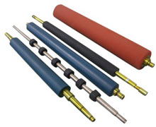 Photo of Datacard Platen Rollers and Assemblies