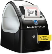 Dymo LabelWriter 450 DUO Barcode Label Printer