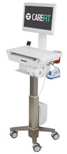 Ergotron CareFit Slim Medical Cart