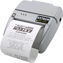 Extech 78618S0-1VEH Portable Barcode Printer