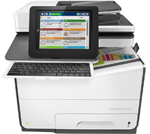 HP PageWide Enterprise Color 586z Multifunction Printer