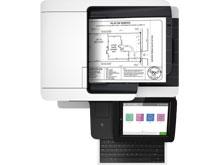 HP LaserJet Enterprise Flow M528z Multifunction Printer