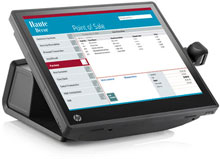 HP F4J64UT#ABA Point of Sale System