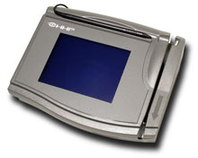 Hand Held TT3100 Electronic Signature Pad