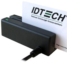 ID Tech IDMB-335133X Credit Card Reader