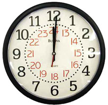 Insite Video Systems 2500-Wall Clock