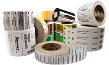 Intermec E25755 Barcode Label