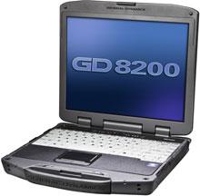Itronix GD8200-105 Rugged Laptop Computer